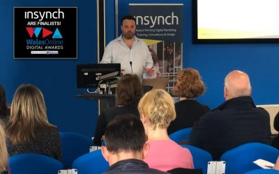 Eddy Webb, CEO at InSynch shortlisted for National Digital Awards